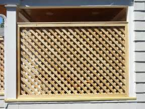 cedar lattice screens and enclosures other by west