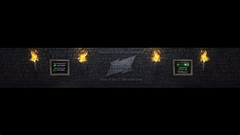 sniper youtube lucky7sniper youtube banner by flamingconcepts on deviantart