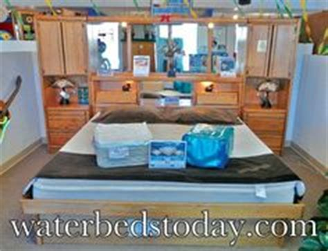 how much is a water bed home furniture on pinterest waterbed mattress and pedestal