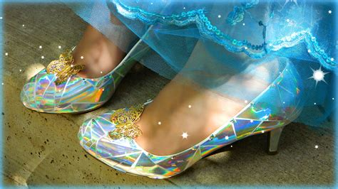 diy cinderella shoes montano cinderella s glass slippers diy