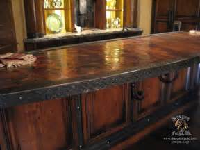 copper countertop dragon forge colorado blacksmith custom hand forged archectural ironwork