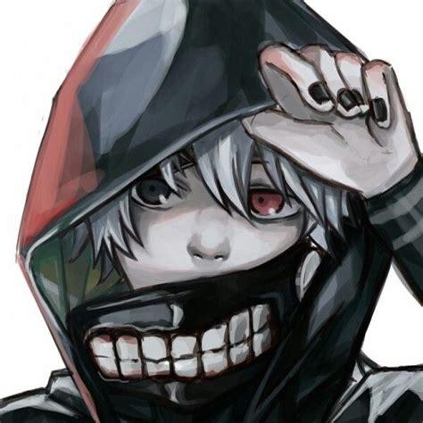 Jaket World Kaneki Ken Tokyo Ghoul tokyo ghoul kaneki ken ithw white hair and mask tokyo