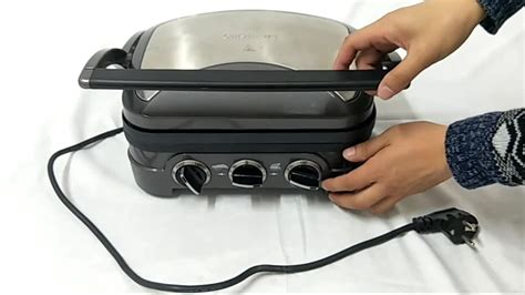 Mini Electric Grill Toaster by 5 In 1 Breakfast Maker Portable Mini Electric Bbq Grill