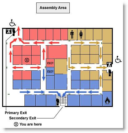 floor plan mapper emergency response plans communicated using interactive