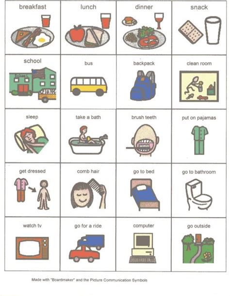 Pecs Card Template by 5 Best Images Of Printable Visual Schedules For Autism