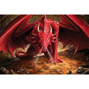 Dragon Wall Murals mythical dragon lair wall mural wallpaper brokers