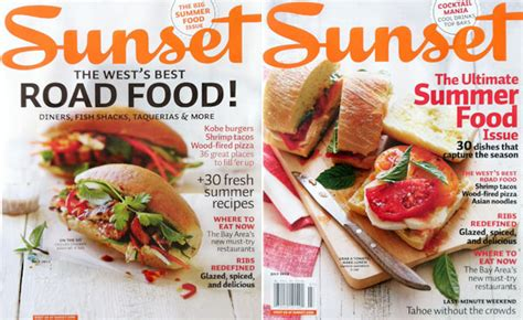 summery sandwiches for sunset magazine covers annabelle breakey photography