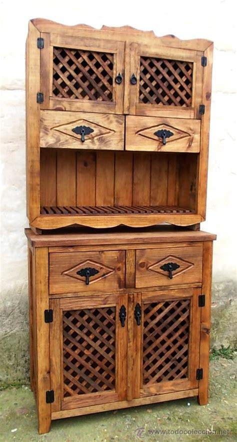 mueble de madera alacena rustico  celosia  vendido en venta directa