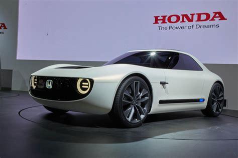 new honda sports honda sports ev and urban ev concepts reveal future retro