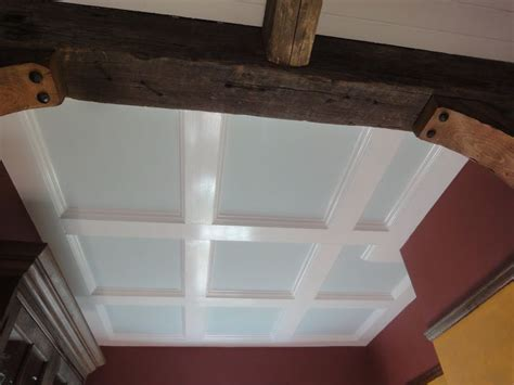 coffered ceiling diy mh