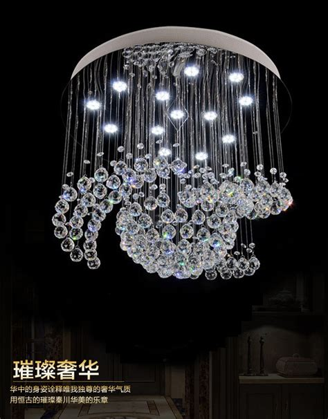 Chandelier Lights For Sale Aliexpress Buy New Flush Mount Large Chandelier Lights Lustre Living Room