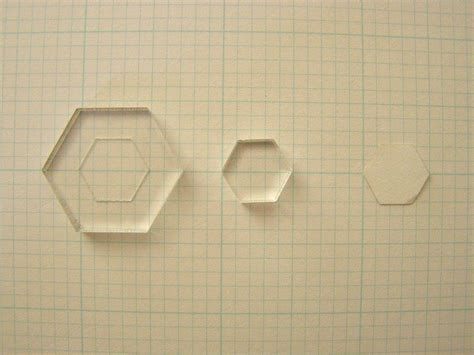 Paper Templates For Patchwork - hexagon patchwork
