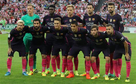 Calendario Barcelona 2016 2017 As 237 Queda La Plantilla Fc Barcelona 2016 2017