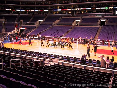 section pr6 staples center section 110 seat view at staples center rateyourseats com