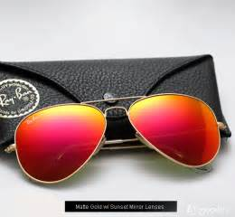 ban aviator colored mirror sunglasses