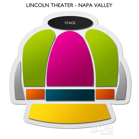 lincoln theater yountville ca lincoln theater napa valley seating chart seats