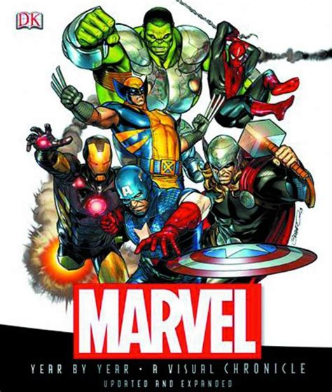 libro art work revised marvel year by year a visual chronicles hard cover 1 dk publishing comicbookrealm com