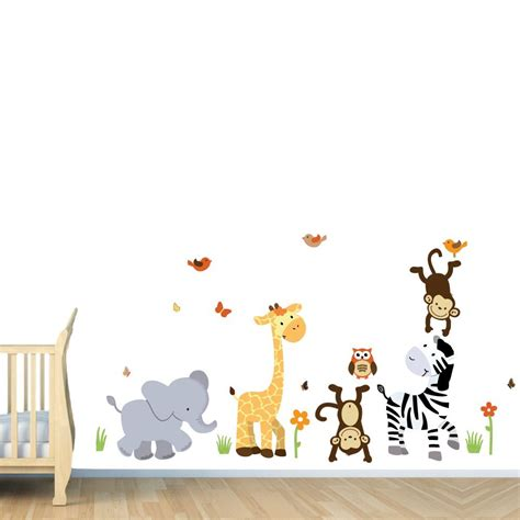 Nursery Decorations Wall Stickers Wall Stickers For Boy Nursery Peenmedia