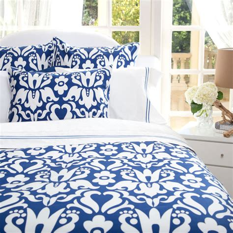 Cobalt Blue Bedding by The Montgomery Cobalt Blue Duvet Covers
