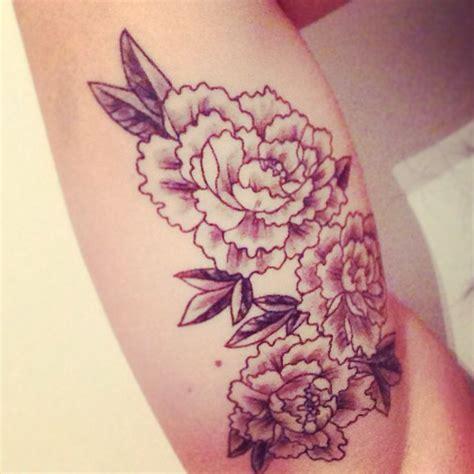 peony tattoo flower tattoos pinterest