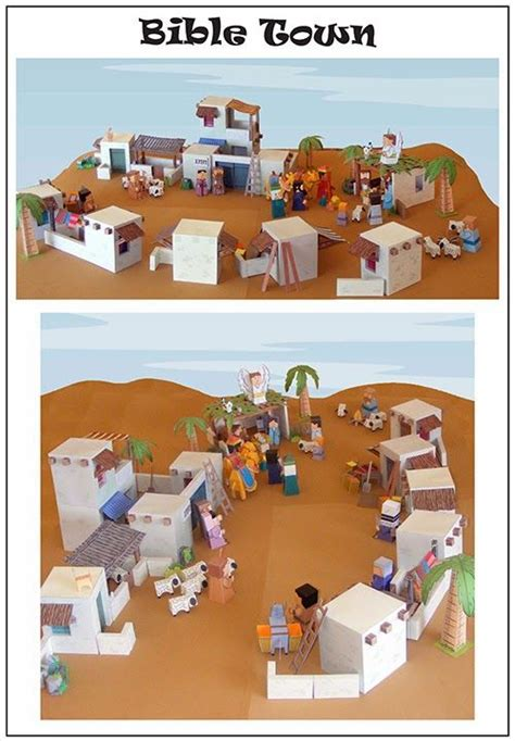 Nativity Paper Craft - 278 best printables 21 bible stories images on