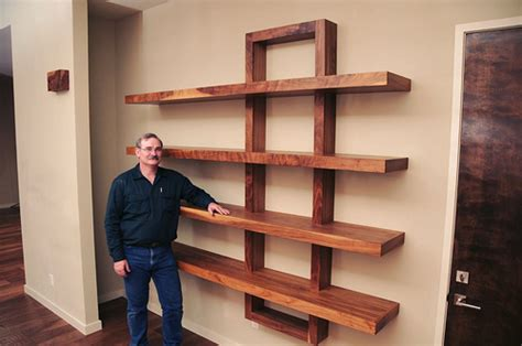 build wooden shelving unit woodworking projects