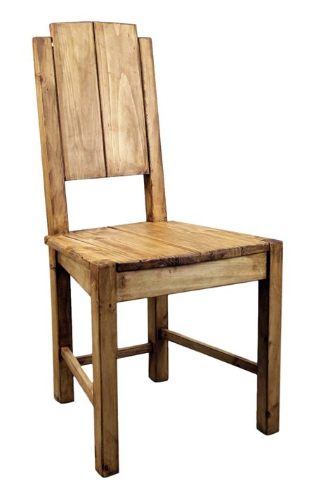 wood dining room chairs vera pine rustic dining room chair mexican rustic
