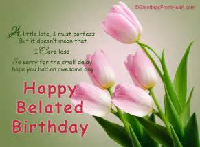belated birthday wishes images flowers www imgarcade image arcade