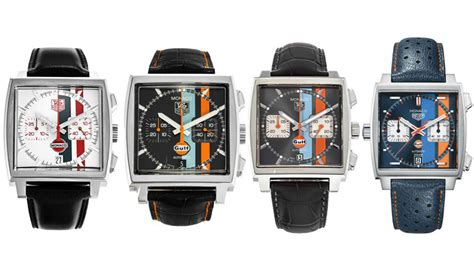 Tag Heuer 50 Th Anniversary Limited Edition Brs tag heuer monaco gulf special edition 50th anniversary