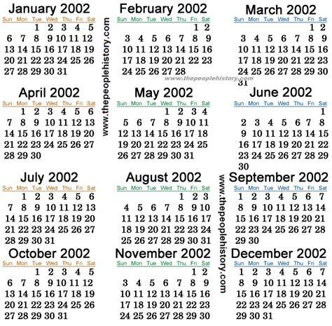 August 2002 Calendar Calender 2002 New Calendar Template Site