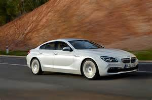 2016 bmw 6 series gran coupe front three quarter in motion