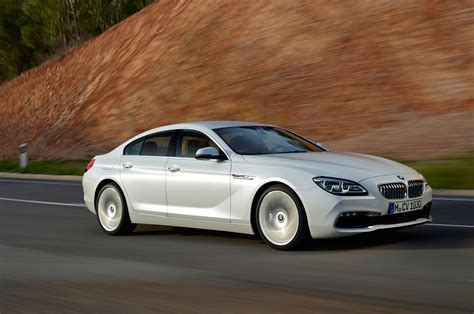 Bmw 6 Gran Coupe by 2016 Bmw 6 Series Gran Coupe Front Three Quarter In Motion