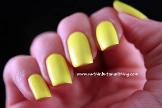 Neon Nails From Barry M by Nuthin But A Nail Thing Barry M Neon Yellow And Neon