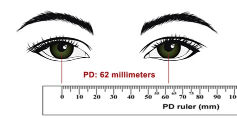 printable pupillary distance ruler printable millimeter ruler for eyeglasses www pixshark