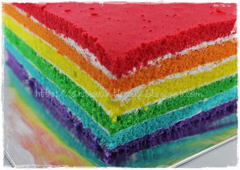 cara membuat whipped cream untuk rainbow cake resep rainbow cake kue basah