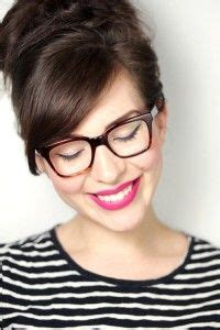 hairstyles to match glasses 18 best straight across bangs images on pinterest