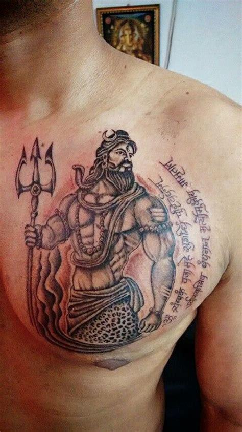 mahadev tattoo designs shiva by artist sandip uttam bold studio