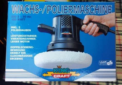 Wachs Mit Maschine Polieren by Wachs Poliermaschine King Craft In Heppenheim