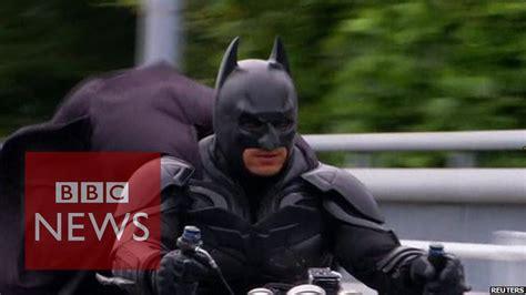 meet japan s batman chibatman a real life dark knight