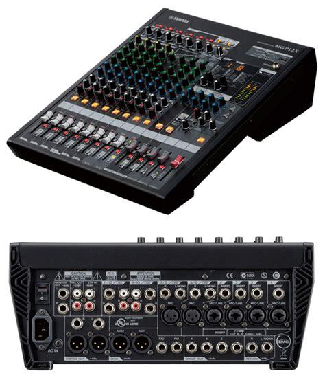 Mixer Yamaha Mgp Series yamaha mgp12x image 737678 audiofanzine