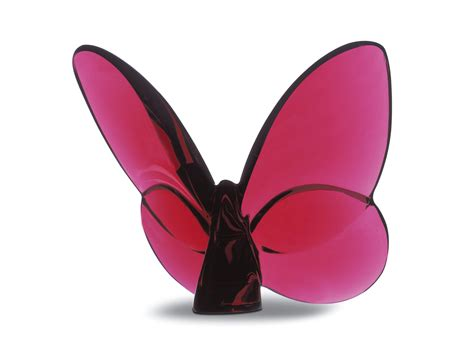 baccarat bicchieri prezzi farfalla portafortuna in cristallo baccarat