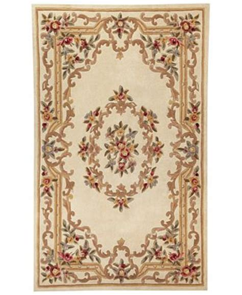 Kenneth Mink Area Rug Closeout Kenneth Mink Area Rug Empress Aubusson 5 X 8 Rugs Macy S