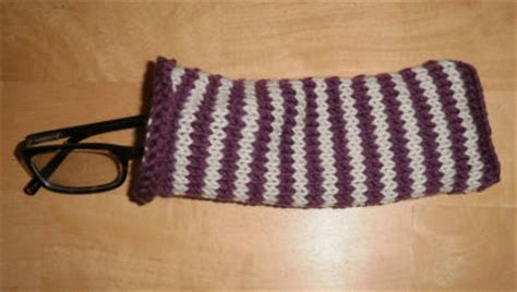 pattern for eyeglass holder free knitting pattern how to knit an eyeglass case