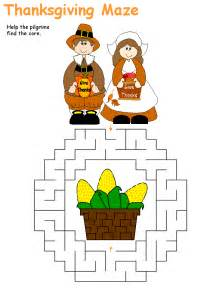 thanksgiving maze thanksgiving coloring pages