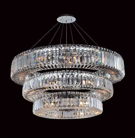 Modern Ceiling Lights For Dining Room popular round chandelier crystals from china best selling