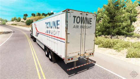 skin towne air freight on the trailer for american truck simulator