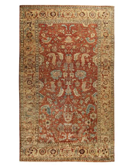 horchow rug exquisite rugs thompson oushak rug 9 x 12