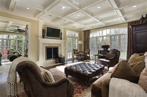 Large Family Room Decorating Ideas | 47 luxury family room design ideas pictures