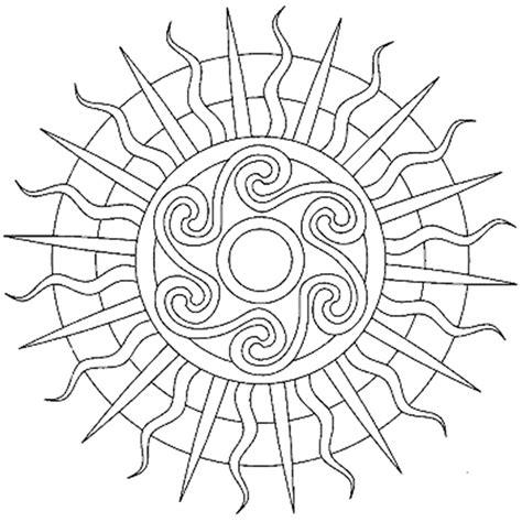 sun mandala coloring pages sun mandala coloring pages mandala coloring pages of