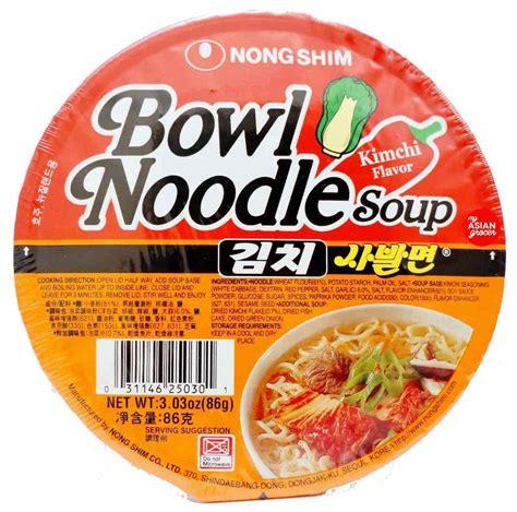 Nongshim Kimchi nongshim bowl noodle soup kimchi flavour 86g my asian grocer
